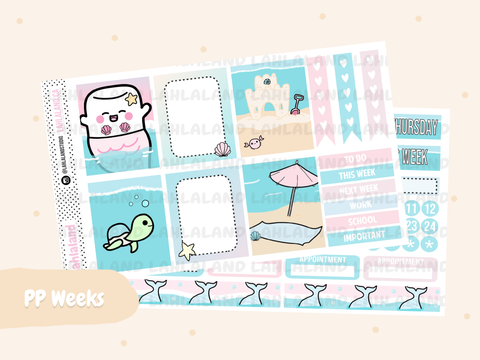 PP Weeks - Mermaid Weekly Kit
