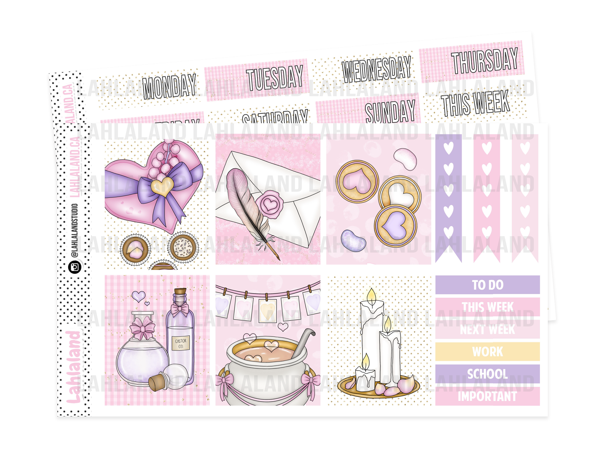 PP Weeks - Wizard Valentine's Weekly Kit