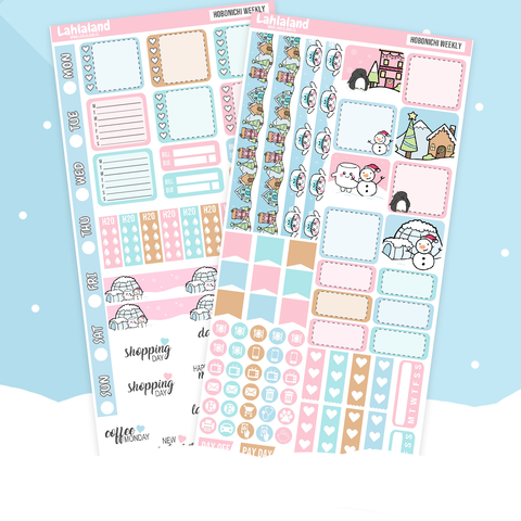 Hobonichi Weeks - Snowplace Like Home Weekly Kit