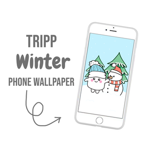 Tripp Winter Phone Wallpaper