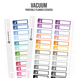 Vacuum - Functional Stickers