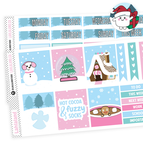 PP Weeks / Mini Kit - Winter Feels Weekly Kit