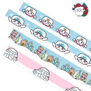 Snow Fun Washi - Tripp