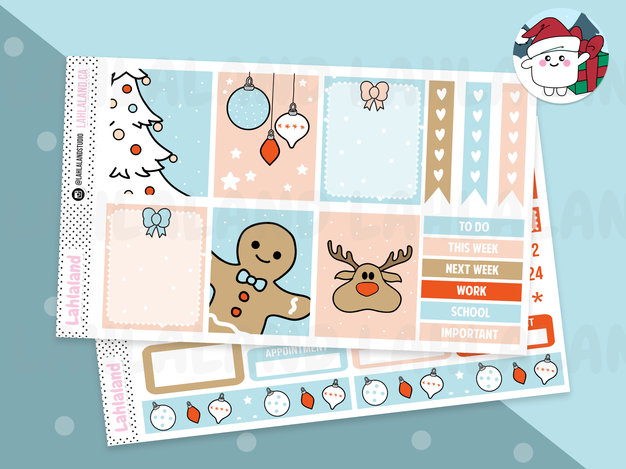 PP Weeks/Mini Kit - Winter Wonderland Weekly Kit