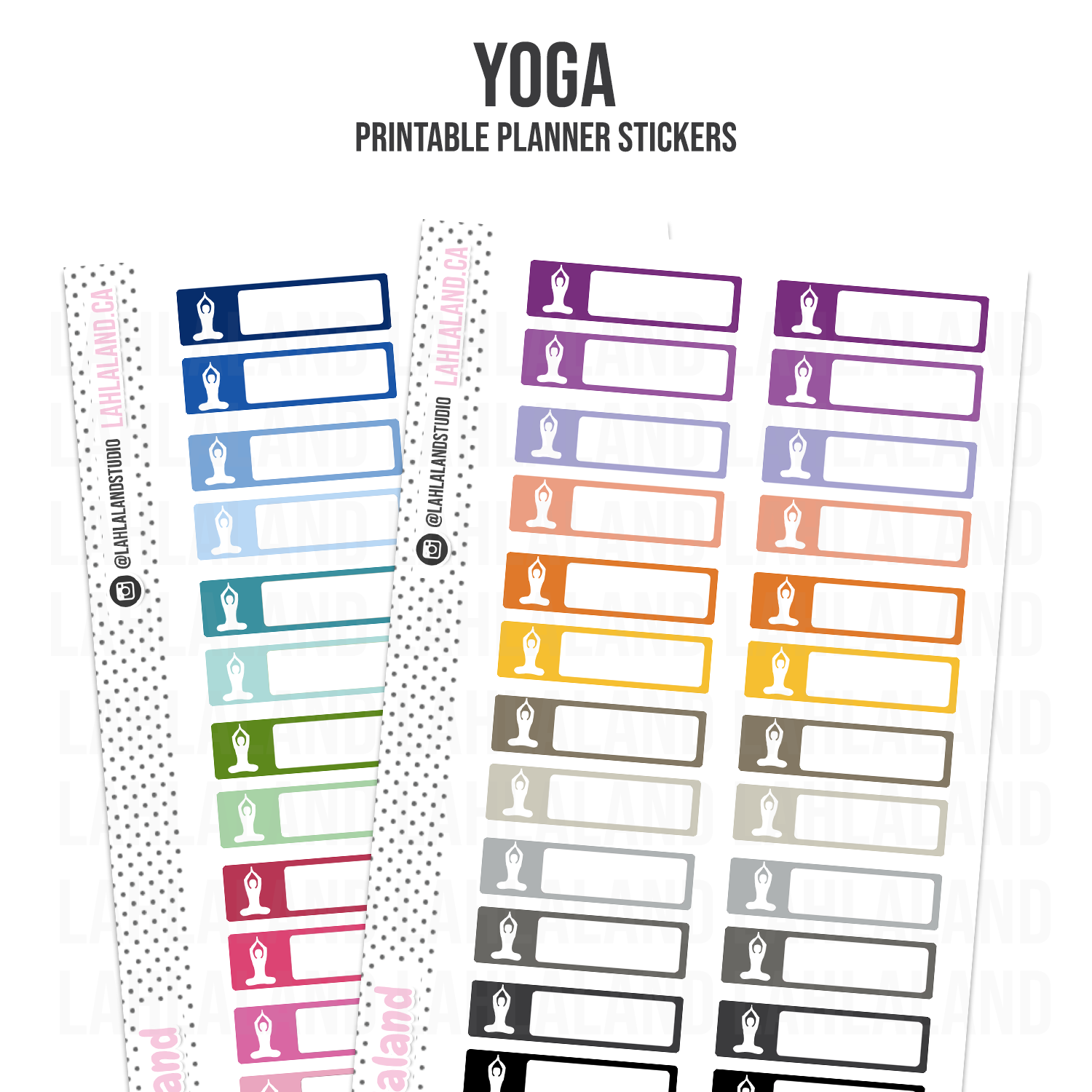 Yoga - Functional Stickers