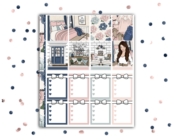 Erin Condren - Farm House Weekly Kit