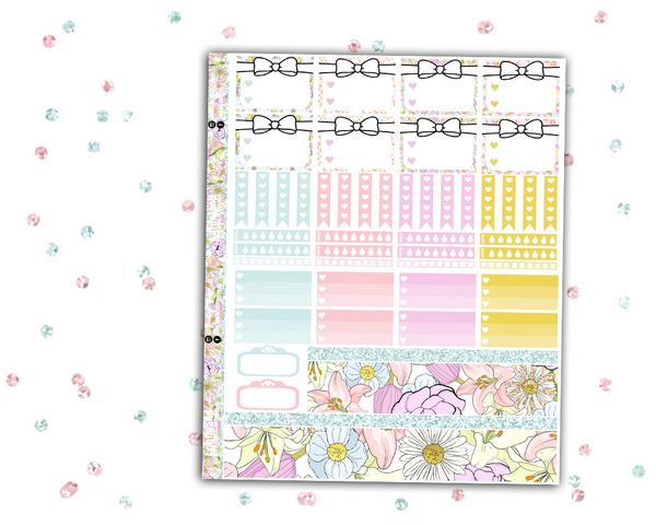 Spring Weekly Kit - Erin Condren