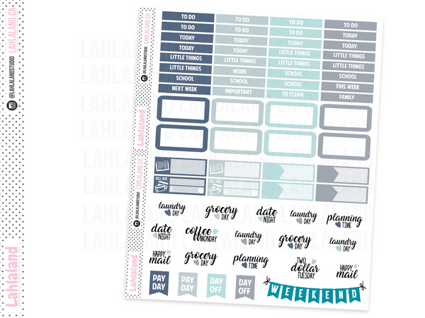 Classic Happy Planner - Let It Go Weekly Kit