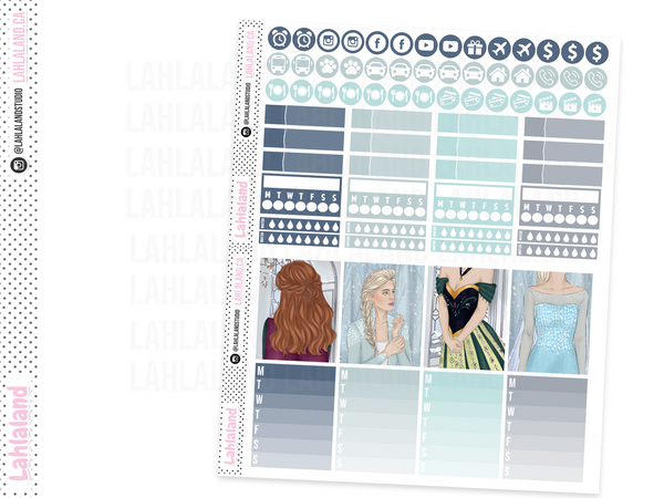 Standard Vertical - Let It Go Weekly Kit