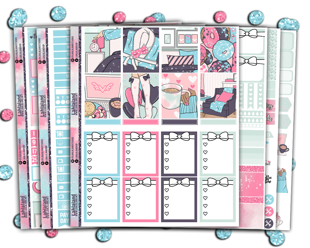 Erin Condren - My Weekend Weekly Kit