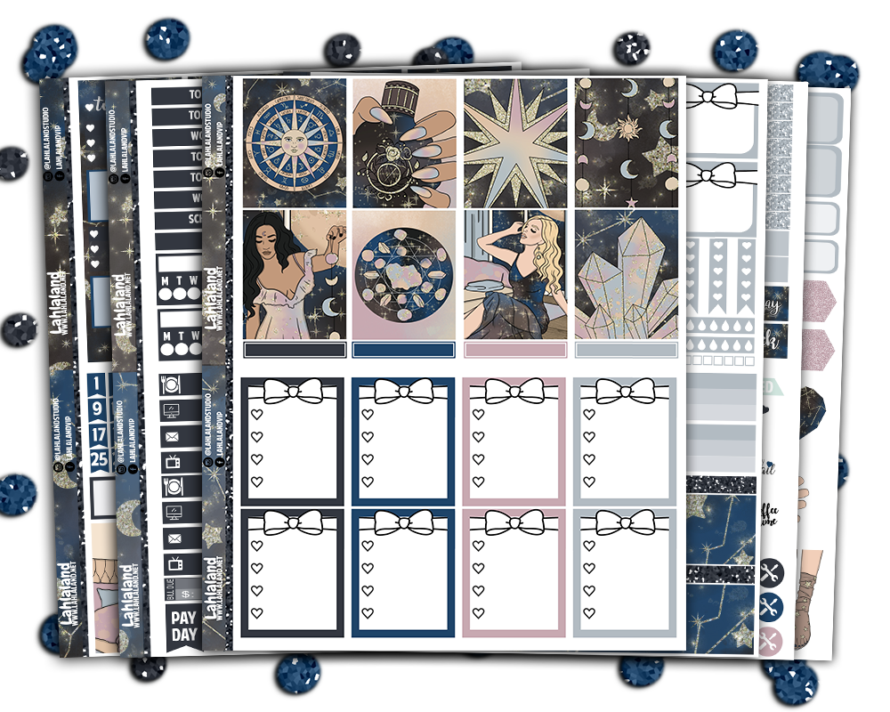 Erin Condren - Zodiac Weekly Kit