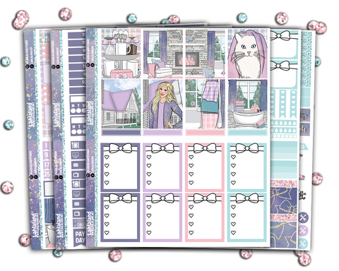 Erin Condren - Purrfect Home Weekly Kit