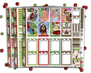 Standard Vertical - You're A Mean One Weekly + BONUS Christmas Countdown and Deco!