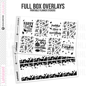 Fall 2 - Foil Overlays