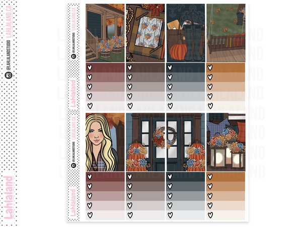 Classic Happy Planner - Autumn Dusk Weekly Kit