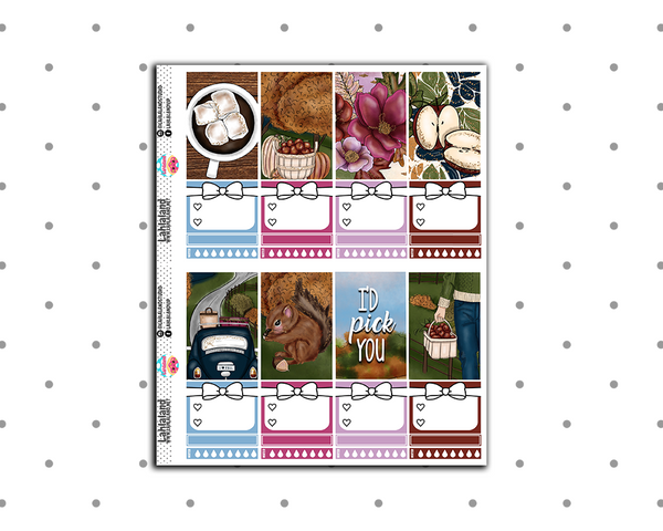 Classic Happy Planner - Bushels Of Autumn Weekly Kit