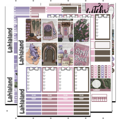 Classic Happy Planner - Witches Brew Weekly Kit