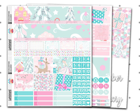 Standard Vertical- Whimsical Christmas Monthly Kit