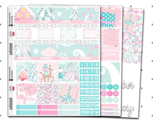 Classic Happy Planner - Whimsical Christmas Monthly Kit