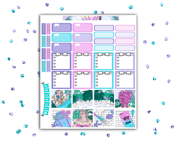 Mini Happy Planner - Mermazing Weekly Kit