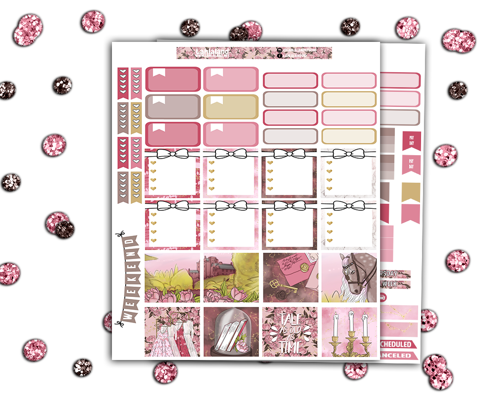 Mini Happy Planner - Be My Guest Weekly Kit