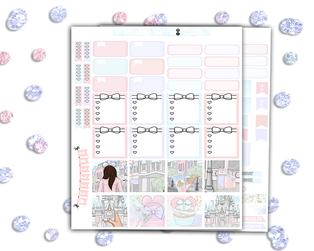 Mini Happy Planner - Magic Weekly Kit