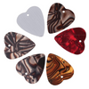 Heart Shape Guitar Pick Set 6pcs