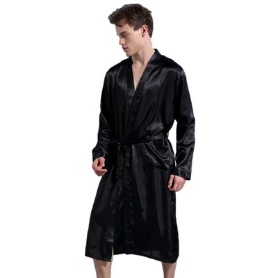 Men Satin Robe