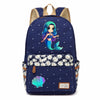 Mermaid Canvas Backpack
