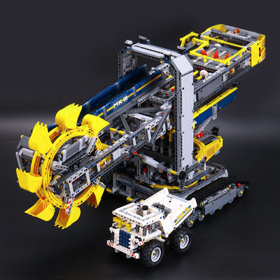 Bucket Wheel Excavator Model Building Blocks 3929 pcs
