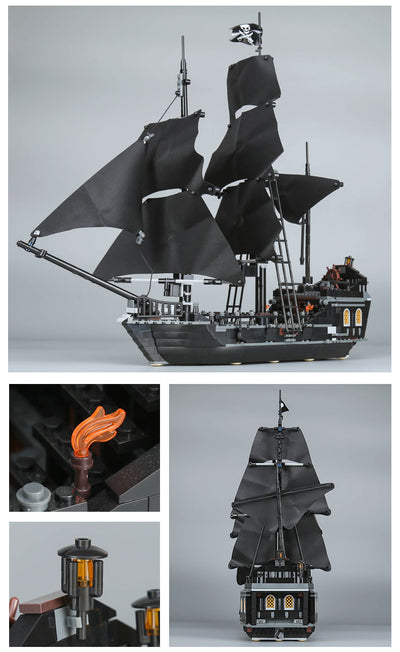Pirates of the Caribbean The Black Pearl Model Building Blocks