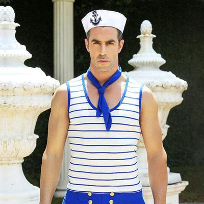 Men Sexy Navy Sailor Costume