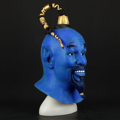 Halloween Genie Latex Costume Helmet
