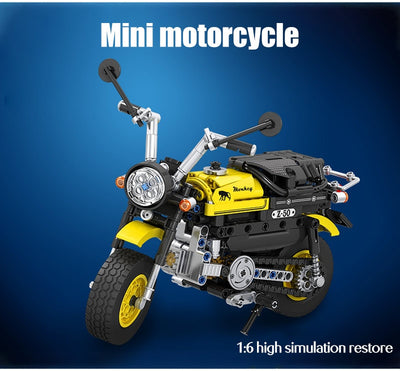 Mini Motorcycle Model Building Blocks 402 pcs
