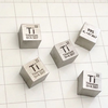 Titanium Metal 10mm Density Cube 99.5% Pure for Element Collection