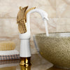 Luxury High Swan Basin Mixer Faucet