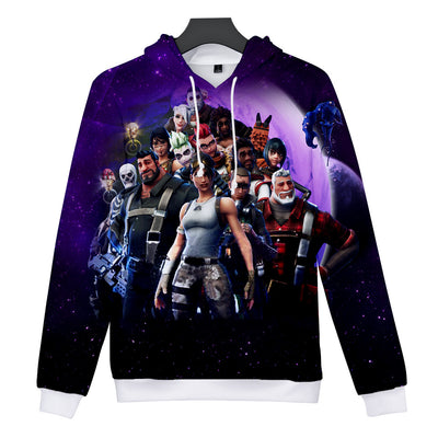 Save the World Streamers 3D Hooded Sweatshirt
