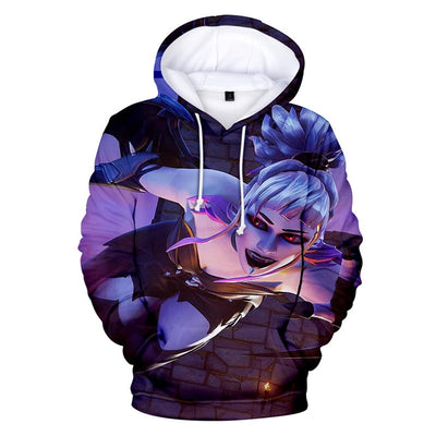 Dusk 3D Hooded Sweatshirt