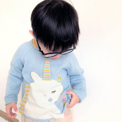 Unicorn Sweater for Babies and Kids (1-6Y)