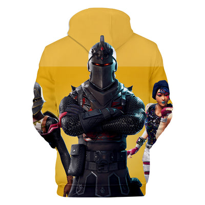 Black Knight Royale Knight Sparkle Specialist 3D Hooded Sweatshirt
