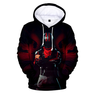 Burnout Skin 3D Hooded Sweatshirt