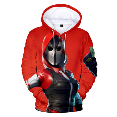The Ace Skin 3D Hooded Sweatshirt