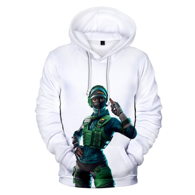 Instinct Skin 3D Hooded Sweatshirt