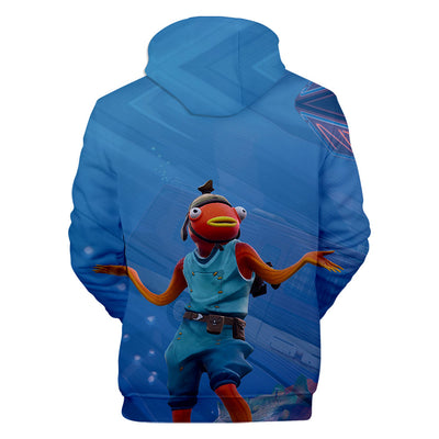 Fishstick Skin 3D Hooded Sweatshirt