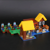 My World Minecraft The Farm Cottage Model Building Blocks 615pcs