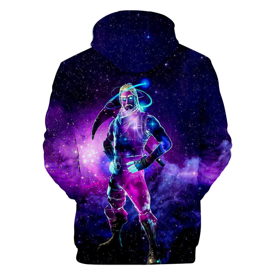 Fortnite Galaxy Skin Minimalist Fortnite Hoodie Teepublic