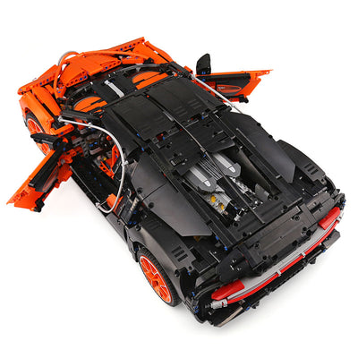 Bugatti Chiron Technic Race Car Model Building Blocks 4031 pcs