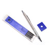 Automatic Lead Mechanical Pencil HB 3mm 6 Leads Refills