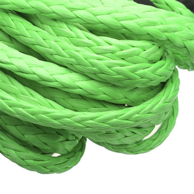 Vehicle Synthetic Fiber Winch Rope 5.5mm x 15m 5500LBs