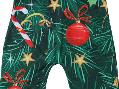 Christmas Tree with Candy Canes Ornaments Costume for Kids